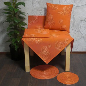Špirála oranžová